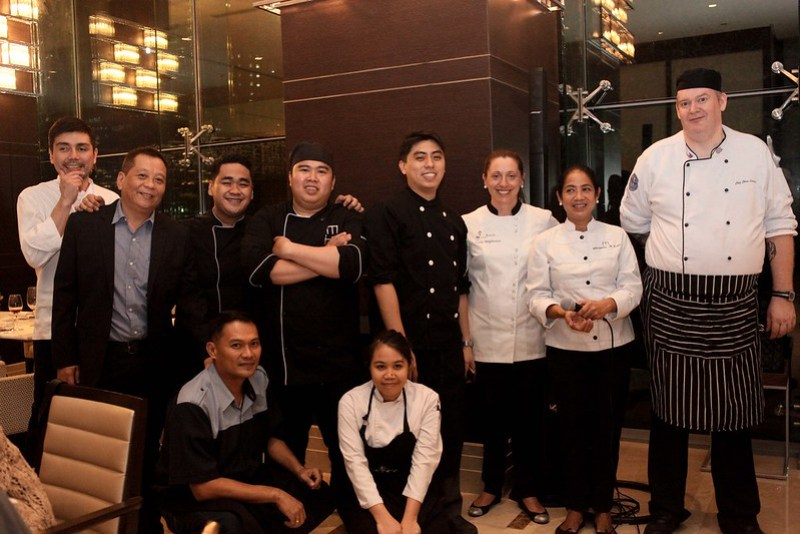 The Alta team resposnible for the Artusi dinner