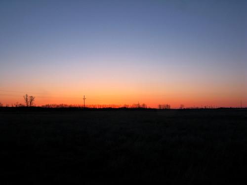 Prairie sunrise I by JB Yoder