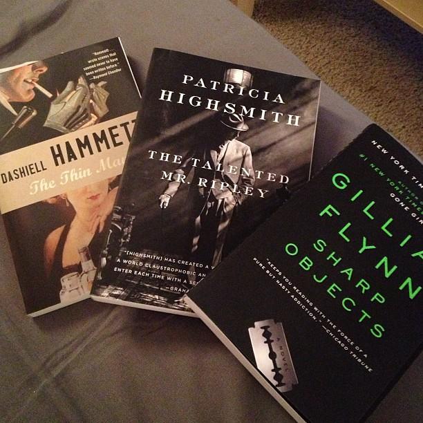 Just a few books for my summer class!