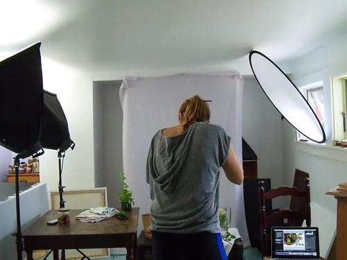 studio shooting
