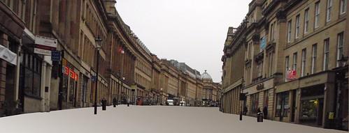 Grey Street - grey or green space?
