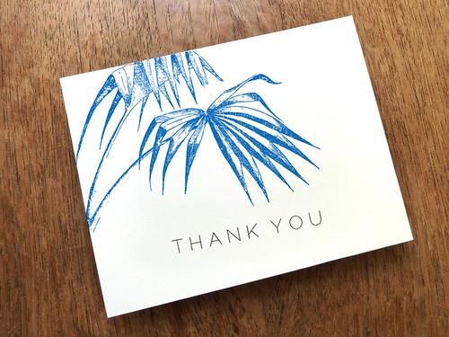 Thank You Card Design - Palma