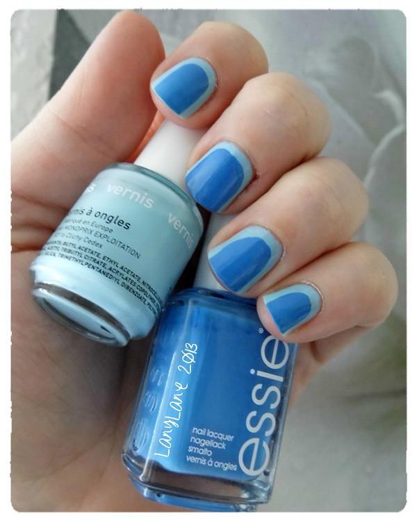 Bleu, bleu & bleu ...