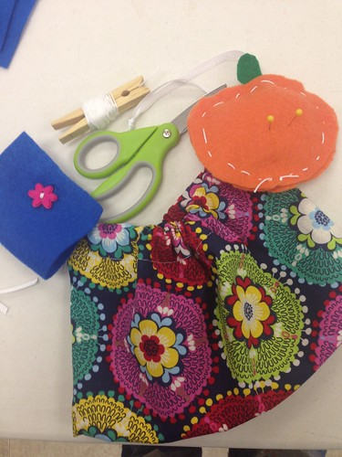 Sewing rainbows. 101 class spring 2015