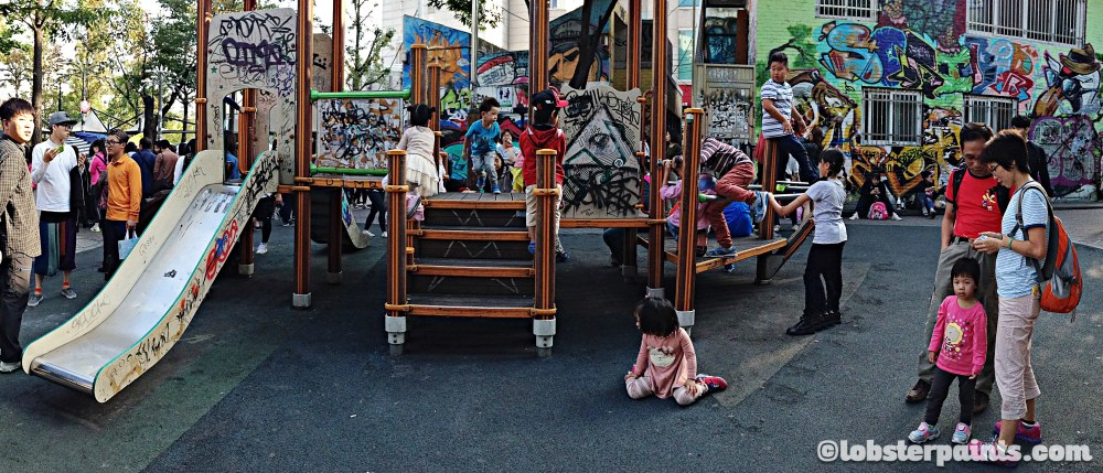 4 Oct 2014: Hongdae Playground | Seoul, South Korea