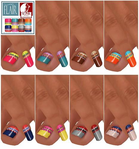 Flair - Nails Set 52