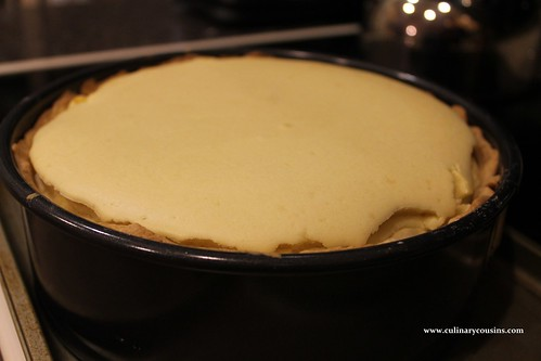 Lemon cheesecake at www.culinarycousins.com