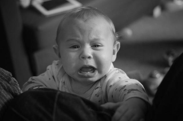 Micah Crying
