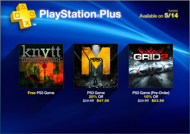 PlayStation Store Update 5-14-2013