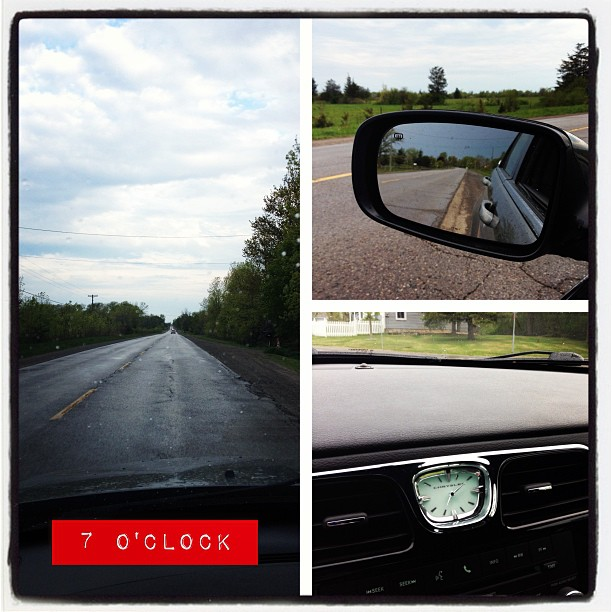 May 15 - 7 o'clock {and I'm on my way to work} #fmsphotoaday #morning #overcast #princeedwardcounty #commute