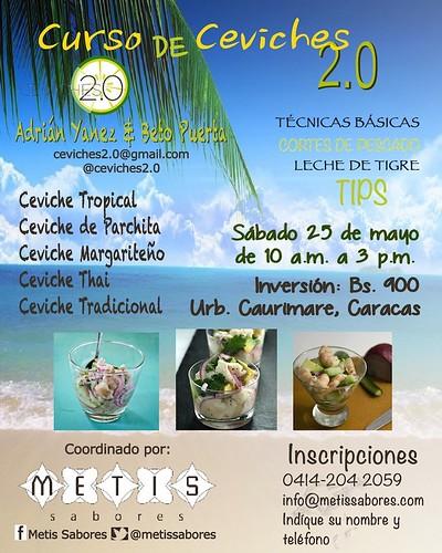 CURSO DE CEVICHES 2.0