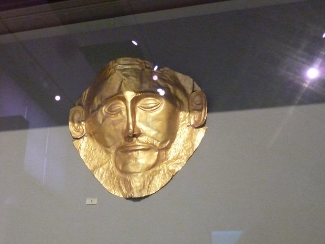 King Agamemnon's mask
