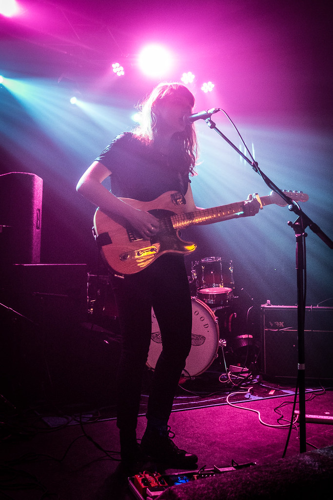Our Girl supporting Honeyblood at the Oslo