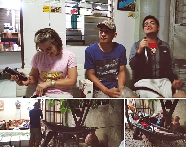 videoke session at Dalaguete