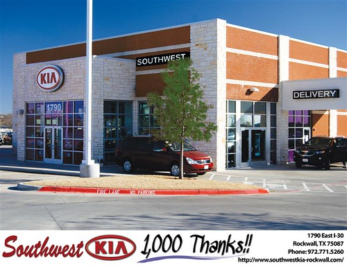 Southwest Kia Rockwall >> Happy Birthday To Taylor Elrod From Mauricio Pena And