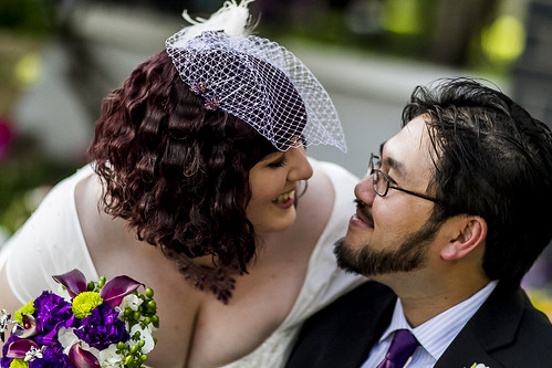 Toni  Nams offbeat lite garden wedding with monsters and games  Offbeat Bride