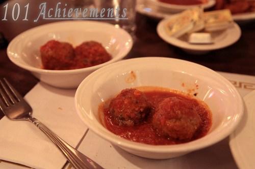 Meatballs at Lombardozzi