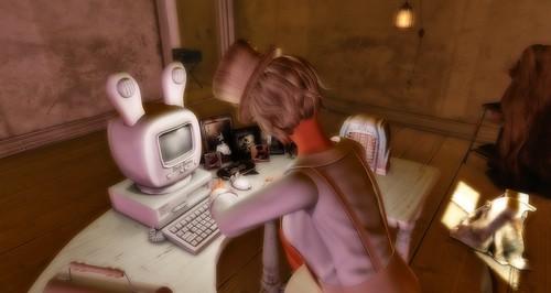 I love the bunny Computer