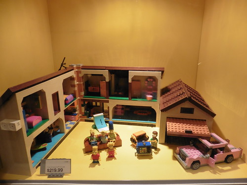 Tiendas y lugares frikis en Nueva York: The Lego Store