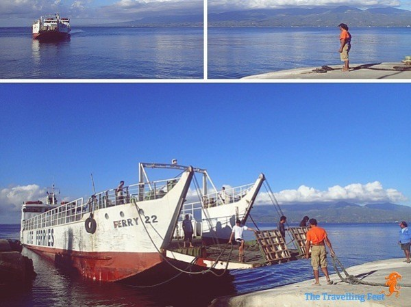 Lite Shipping Ferry Boat in Bato Samboan