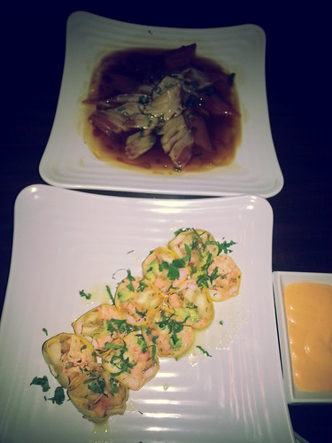 Pre-mom's Day Dinner at Kumori