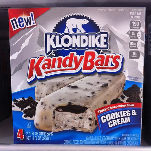 Klondike Kandy Bars Cookies & Cream