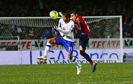 Veracruz contra Cruz Azul