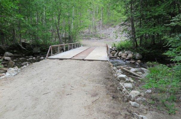 Angel Falls Trail Bridge
