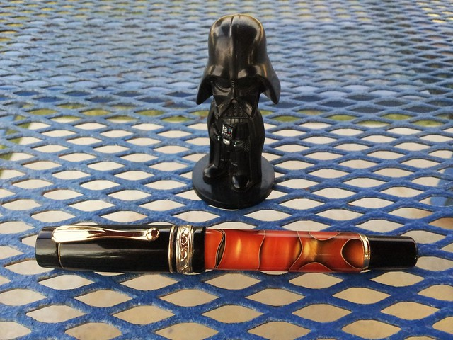 Wancher Naranja Fountain Pen