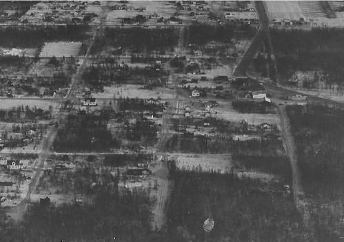mt view aerial ca 1953
