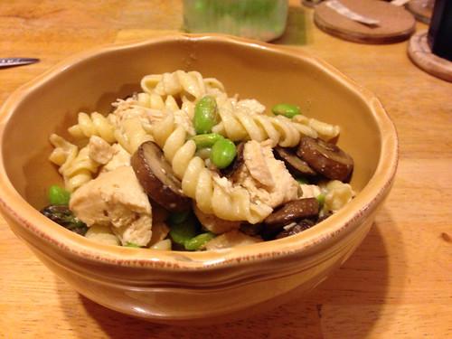Parmesan and Feta Veggie Rotini