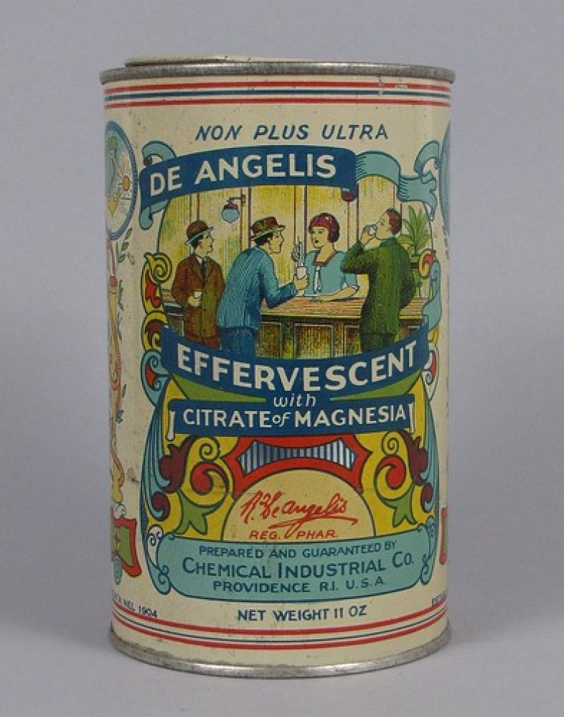 De Angelis Effervescent with Citrate of Magnesia, after 1904