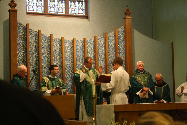 Father Jeremy's First Mass