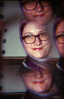 Split selfie