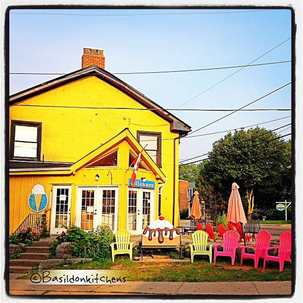 July 3 - cold {Slickers Ice Cream in Bloomfield; a great COLD treat on a hot day} What's your favorite flavor?  #fmsphotoaday #icecream #slickers #bloomfield #princeedwardcounty #cold