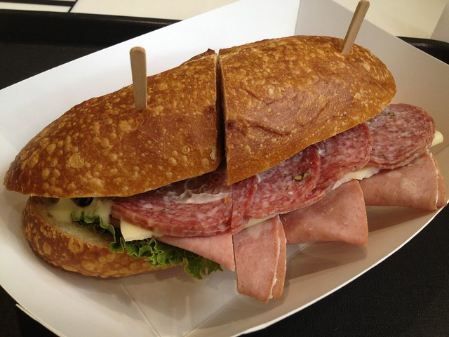 Italian classic sandwich - Boudin Bakery and Cafe