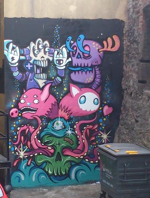 Bristol street art/graffiti