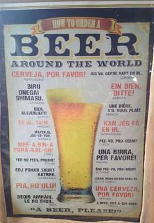Beer Ordering Advice