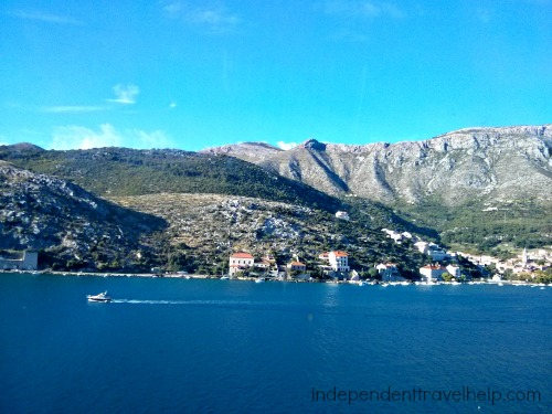 Bus journey from Split-Dubrovnik