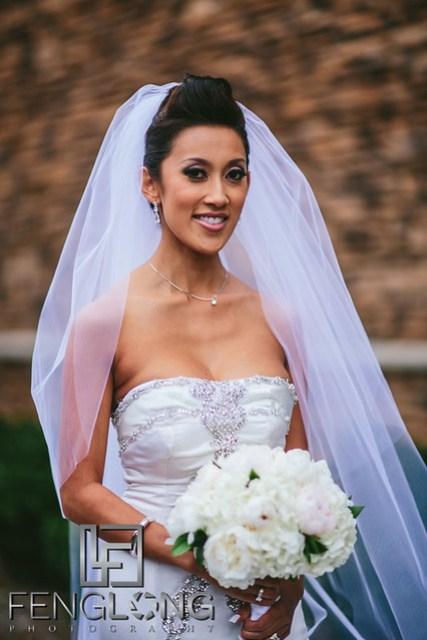 Vietnamese bridal portrait