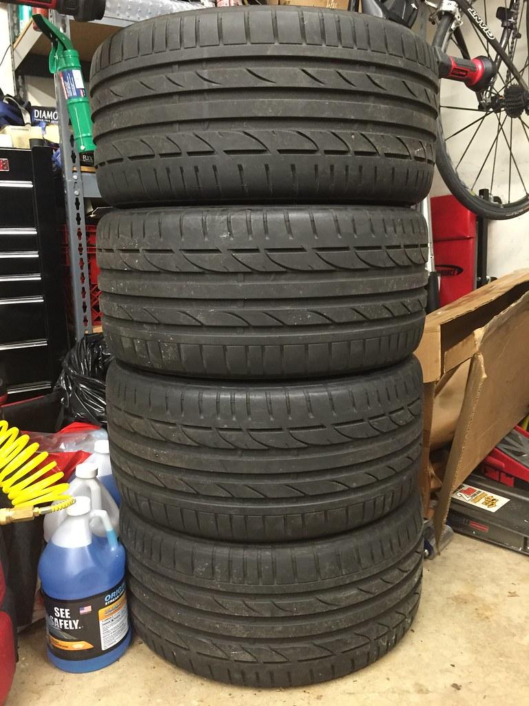 Giant Tires For Sale : giant, tires, Sale), **SOLD**Bridgestone, Potenza, Position, 265/35/18, Tires, NASIOC