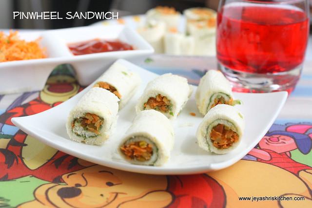 pinwheel sandwich 2