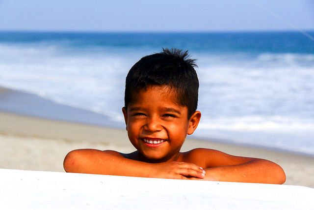smile at the sea