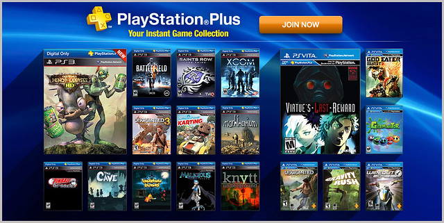 PlayStation Plus Update 7-9-2013