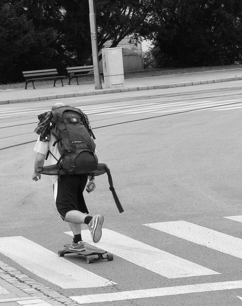 Skateboarding on the Streets