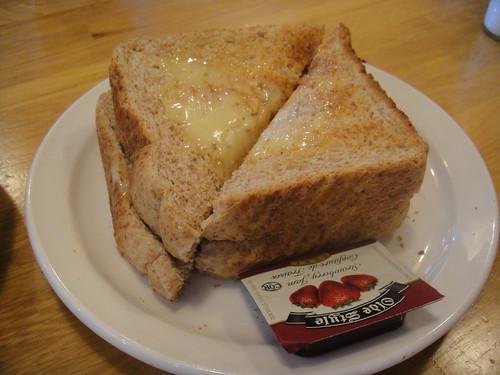 toast with jam