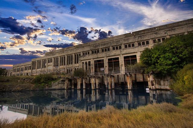 Old abandoned Powerstation, South fremantle , Western Australia