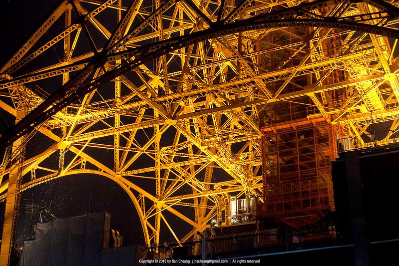 東京鐵塔雨夜