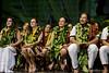 University of Hawaii at Manoa Hawai'inuiākea students listening to their classmate speaking.