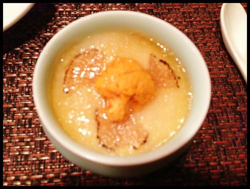 Hiyashi Chawanmushi w/ Uni & Truffle